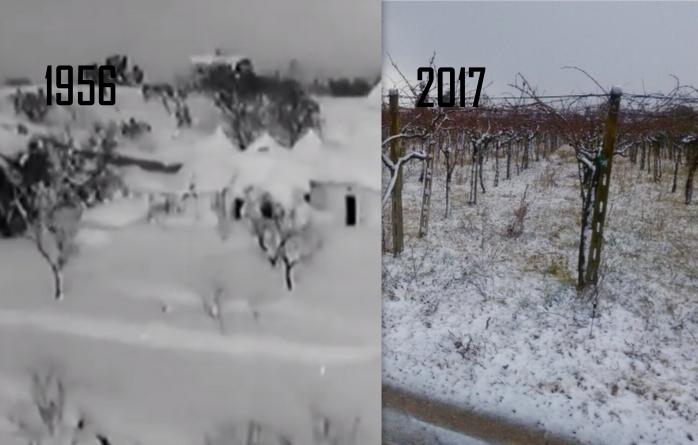 Nevicate storiche, il 2017 come il 1956