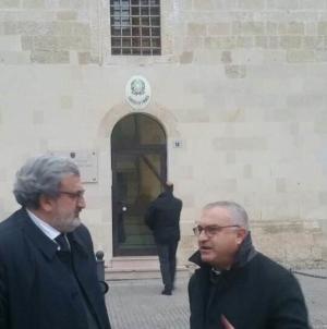 Emergenza neve:  Emiliano incontra il prefetto Palomba