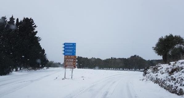Emergenza neve, Perrone scrive ad Emiliano