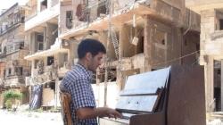 """Il """"pianista di Yarmouk"""" fa tappa a Copertino"""
