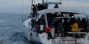 Migranti: 89 persone su una barca a vela al largo di Leuca