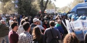 Gasdotto Tap, scatta il Daspo per un manifestante: divieto per 3 anni