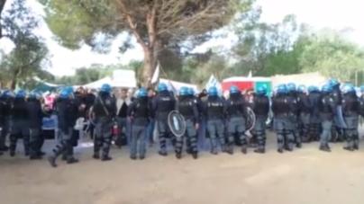 Gasdotto Tap, la polizia abbatte le barricate
