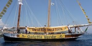 La Goletta Verde arriva in Puglia