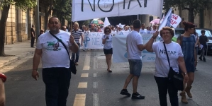 Tap, circa 500 persone al corteo anti-gasdotto