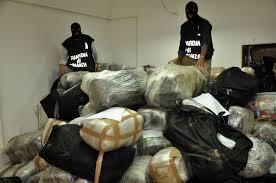 GdF: sequestrate 20 t di droga nella regione