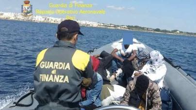 Traffico di migranti verso il Salento: 7 arresti