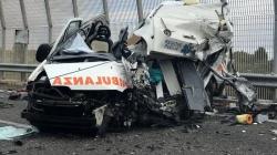 Camion contro ambulanza: due morti sulla Lecce-Gallipoli