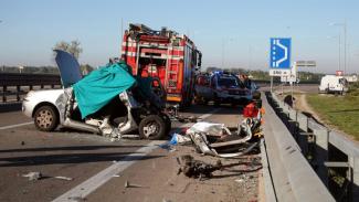 Tragico schianto sulla tangenziale Ovest:  un morto e due feriti