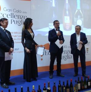 """""""Eccellenze di Puglia"""", premiate le migliori produzioni vinicole"""