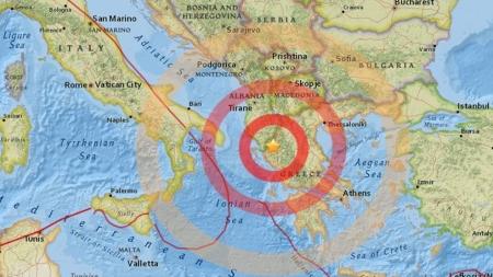 Terremoto in Grecia, scossa avvertita anche in Salento