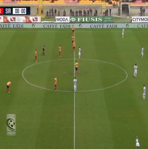 Il Lecce fa tutto da solo e pareggia contro il Siracusa