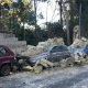 Violenta tromba d'aria in città: crollano muri e alberi sradicati