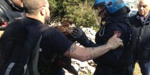 Attivista No tap condannato a 9 mesi, divieto di dimora
