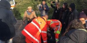 Blitz dei No Tap al cantiere del gasdotto, carica della Polizia: due feriti