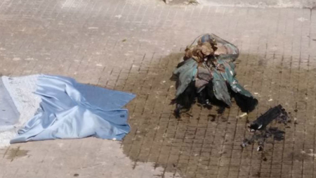 Fiamme distruggono statua Madonna del Santuario di Roca