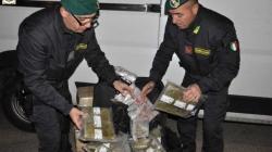 Blitz antidroga della GdF: 4 arresti nel Salento