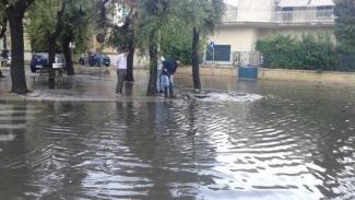 Violento nubifragio nella notte: tanti danni a Lecce