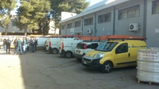 Lavoro: sciopero e presidio lavoratori 'Sirti' di Nardò