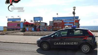 Controlli nei locali sul lungomare di Gallipoli: denunce e sequestri