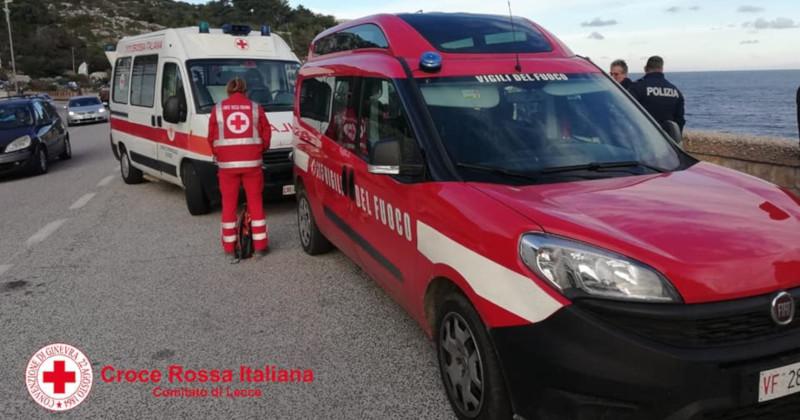 Accusa malore e scivola dalla scogliera del Ciolo: disperso 67enne