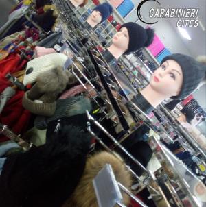 Capi di abbigliamento illegali provenienti dalla Cina: sequestro dei Carabinieri