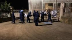 Cemento contaminato, protestano i No Tap nella cava di San Basilio