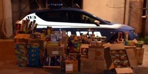 Sequestro di 45kg di 'botti' detenuti illegalmente