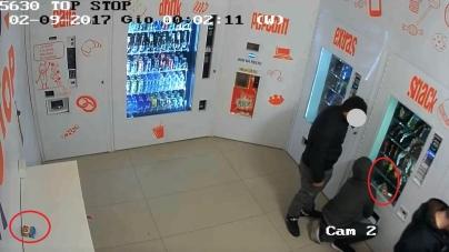 Furto ad un distributore automatico