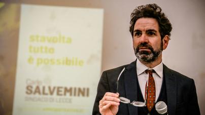 Comunali 2019: Carlo Salvemini è sindaco di Lecce al primo turno