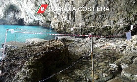 Sigilli a Grotta Zinzulusa: sfregiato da lavori abusivi uno dei simboli del Salento