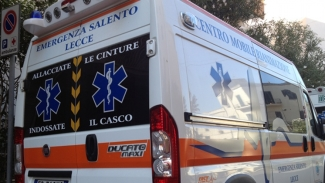Ciclista travolto sulla Otranto-Santa Cesarea Terme: è in gravi condizioni