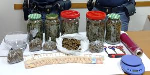 Droga nascosta tra fieno e animali: arrestato 39enne