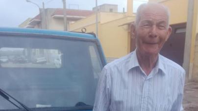 Anziano scomparso nel nulla: ore di angoscia ad Ugento