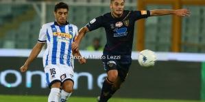 Un buon Lecce cede 4-2 al Pescara