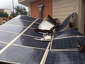 Tromba d'aria nel Capo di Leuca: ingenti i danni