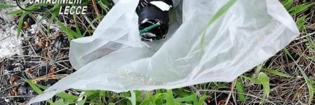 Rinvenuto un ordigno artigianale in un giardino pubblico di Maglie