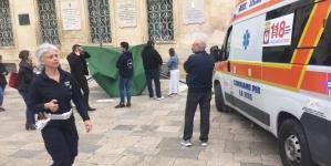 Raid contro un gazebo della Lega in Piazza Sant'Oronzo