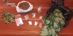Market della droga alla periferia di Lecce: arrestata coppia di pusher