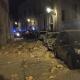 Crolla facciata di un palazzo del centro di Lecce: paura tra i residenti