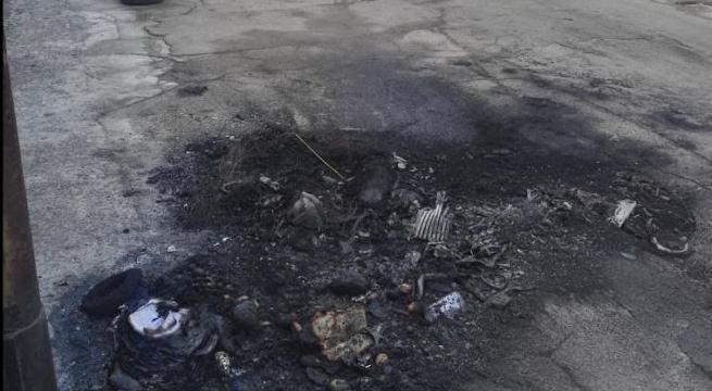 Attentato a Supersano: a fuoco l'auto della compagna del sindaco