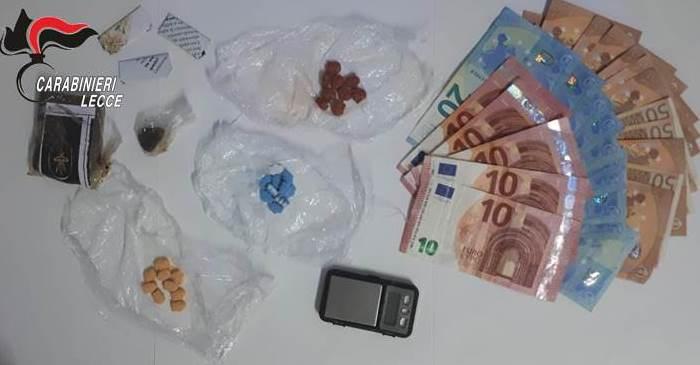 Trasportava droga da Otranto a Lecce: arrestato 26enne brianzolo
