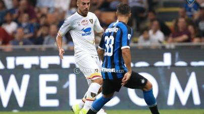 Lecce nel post Inter, Mancosu: «Gara a San Siro è stata utile»