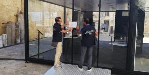 Sequestrato un dehors in pieno centro storico a Otranto