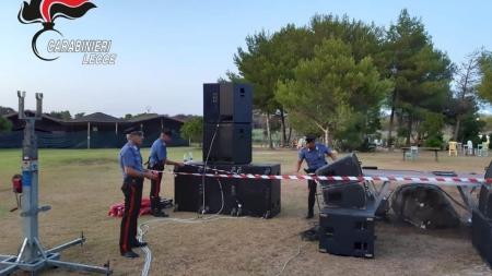 Musica e dj set senza autorizzazioni: scattano i sigilli al Parco Manà