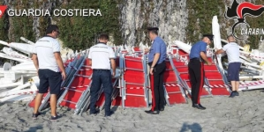 Sequestrato lido abusivo: restituiti circa 300 mq di spiaggia libera