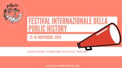 Al via nel Salento la II edizione del Festival Internazionale della Public History