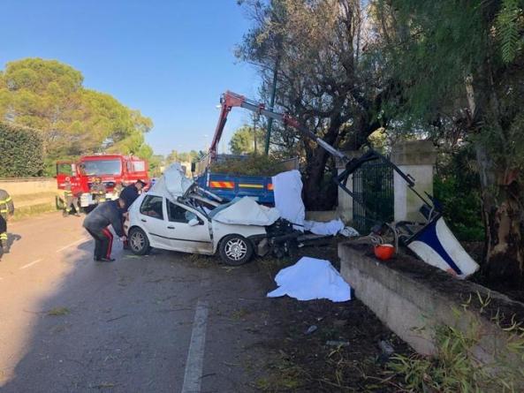 Tragedia a Galatone: camion investe operai, 4 morti ed un ferito