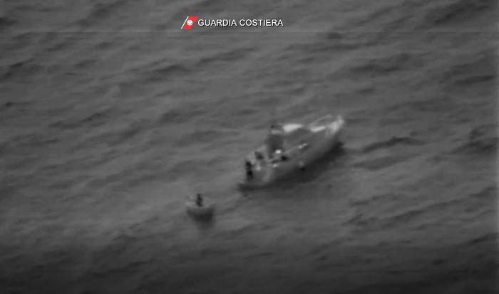 Diportista salvato al largo di Otranto