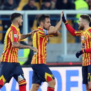 Serie A: il Lecce frena l'Inter, 1-1